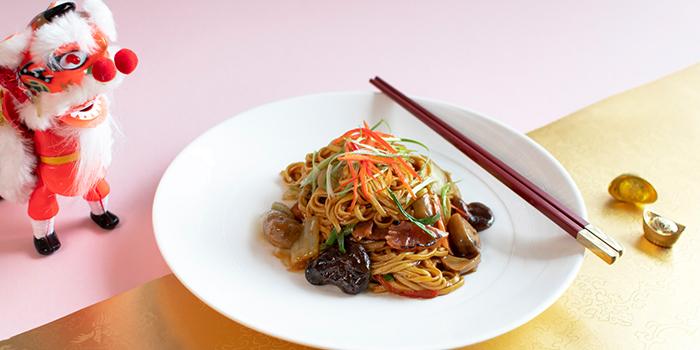Eight Treasures Longevity Noodles (22 Jan to 19 Feb) from Sky22 at Courtyard by Marriott Singapore Novena in Novena, Singapore