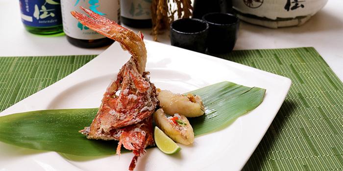 Deep-fried Soft Shell Crab, Umami, Cyberport, Hong Kong