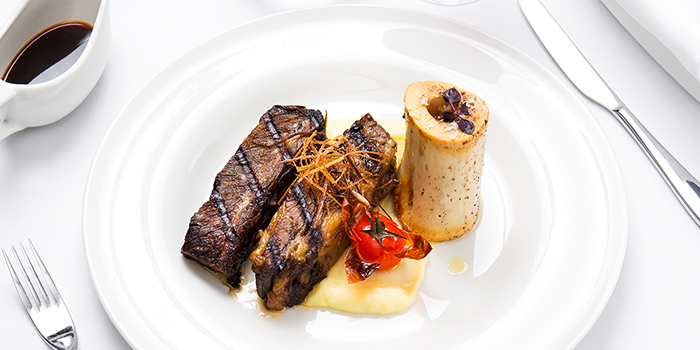 Smoked Braised Black Angus Short Ribs from Tablescape Restaurant & Bar at Grand Park City Hall in City Hall, Singapore