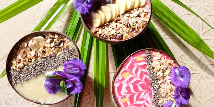 Smoothie Bowl from Bambu Restaurant in Chalong, Phuket, Thailand
