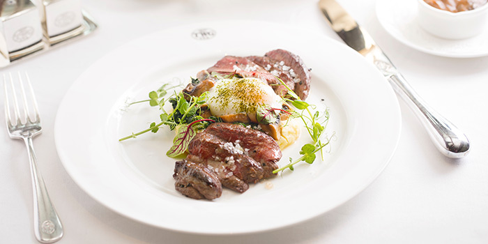 at TWG Tea Salon & Boutique (Plaza Senayan)Steak & Egg
