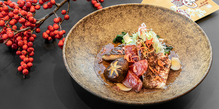 Steamed Asian Sea Bass, CÉ LA VI Restaurant Hong Kong, Lan Kwai Fong, Hong Kong