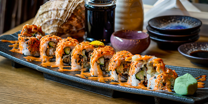 Summer Spicy Spider Roll from Big Sake Bar at The Concourse Skyline in Lavender, Singapore