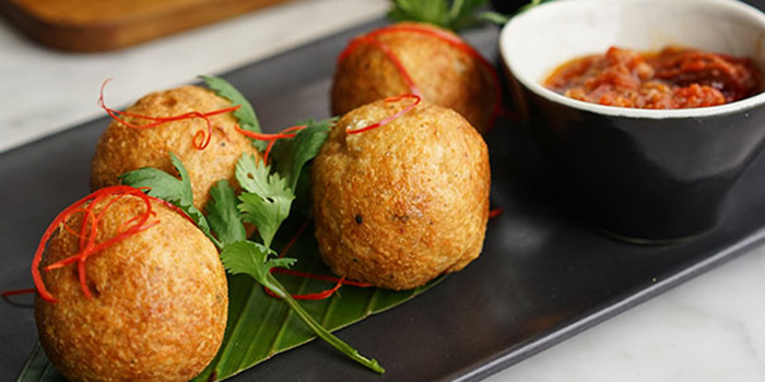 Fish Cakes at Tiger Palm, Bali