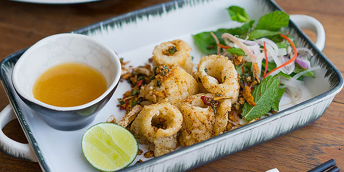 Salt and Pepper Squid of Tiger Palm Bali