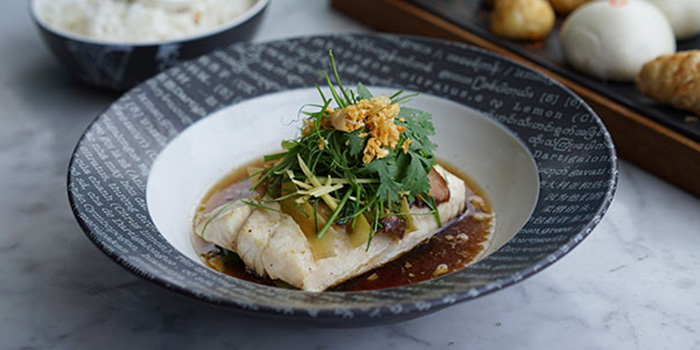 Steamed Fish of Tiger Palm Bali