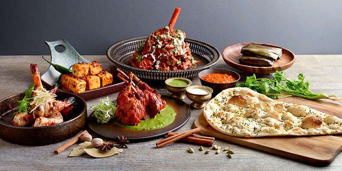 Tandoor Dinner Highlights from Tandoor in Holiday Inn Singapore Orchard City Centre in Orchard, Singapore