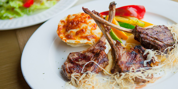 Grilled Lamb Chop, Tom Bar & Grill, Shatin, Hong Kong
