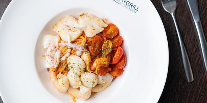 Seafood Spaghetti, Tom Bar & Grill, Shatin, Hong Kong