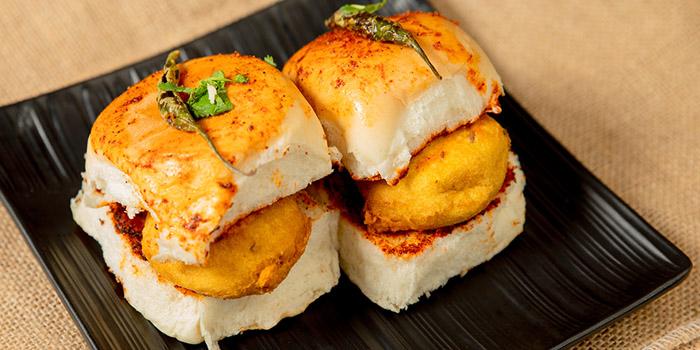 Cheese Pav Bhaji, Woodlands Indian Vegetarian Restaurant, Tsim Sha Tsui, Hong Kong