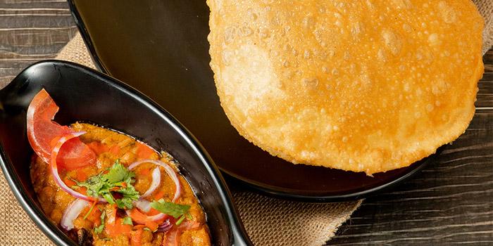 Channa Bathura, Woodlands Indian Vegetarian Restaurant, Tsim Sha Tsui, Hong Kong