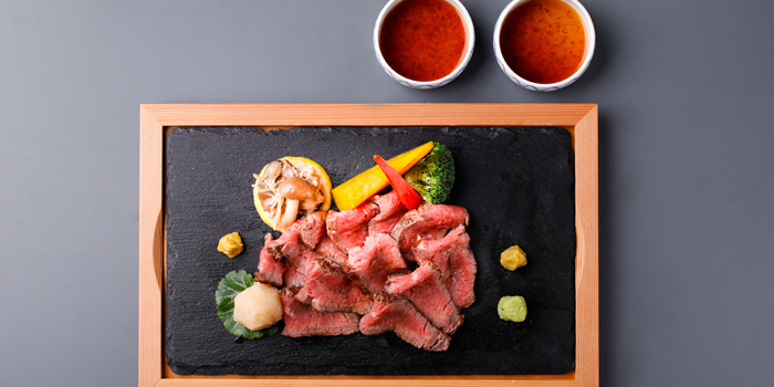 Wagyu Dishes from Kitaohji Ginza Thailand at 212 Soi Sukumvit 55 Khwaeng Khlong Tan Nuea, Watthana Bangkok