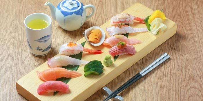 Sushi Platter 2 from Asuka (JW Marriott) at JW Marriott Jakarta in Kuningan, Jakarta
