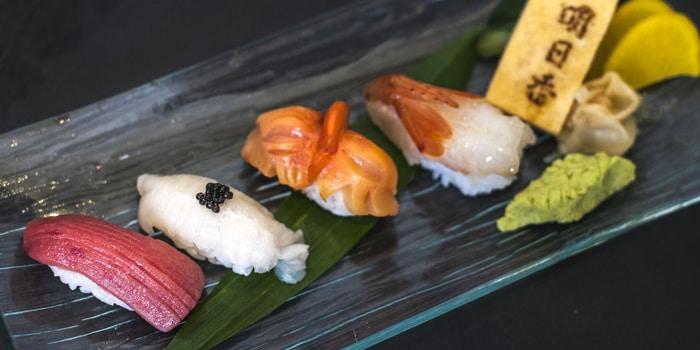 Sushi platter at Asuka (JW Marriott)