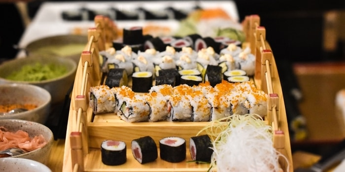 Sushi at Sailendra (JW Marriott)