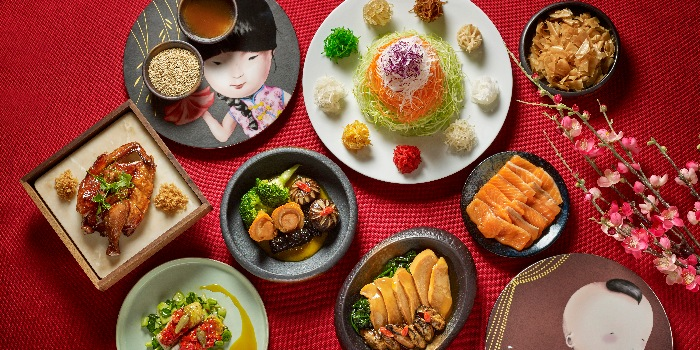Chinese New Year Spread (CNY) from Yellow Pot Restaurant and Bar in Duxton, Singapore