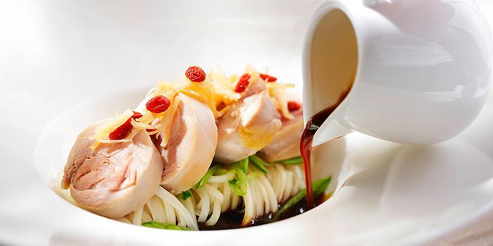 French Chicken Thigh poached, Maison ES, Wan Chai, Hong Kong