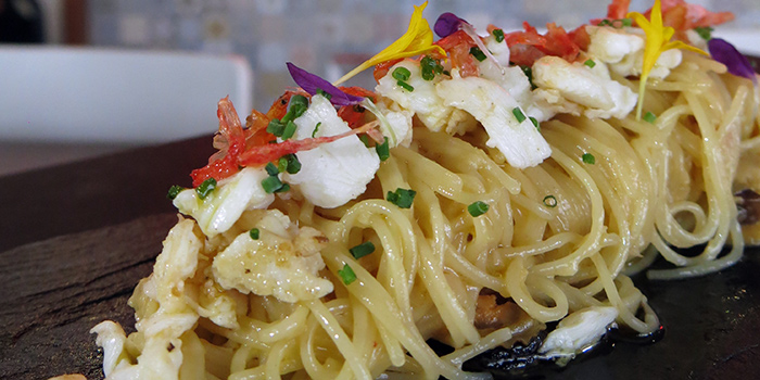 Angel Hair Pasta from Element on Tras Street in Tanjong Pagar, Singapore