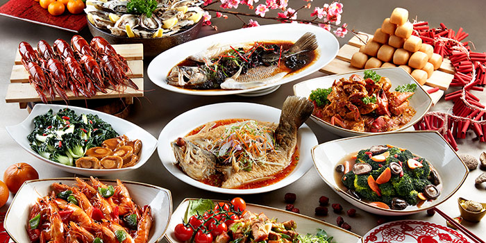 Chinese New Year Buffet (23 Jan to 20 Feb) from Window on the Park in Holiday Inn Singapore Orchard City Centre in Orchard, Singapore
