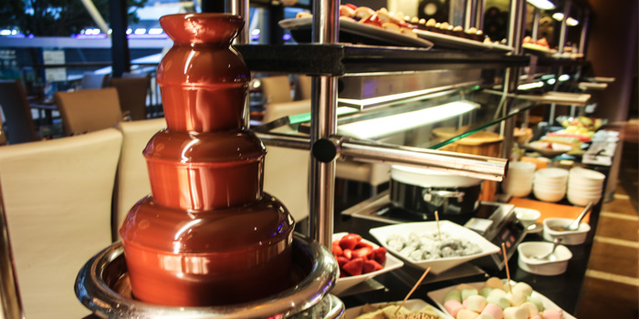 Chocolate Fountain, Prompt, Cyberport, Hong Kong