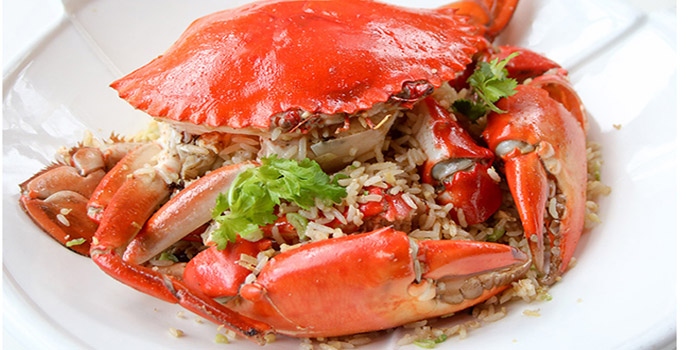 Fried Rice with Whole Crab and Ginger Oil, Nam Fong, Cyberport, Hong Kong