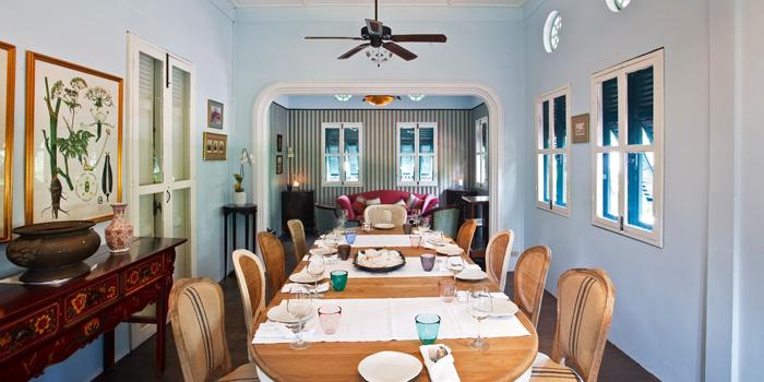 The Dining Room from Issaya Siamese Club at 4 Soi Sri Aksorn, Chua Ploeng Toong Maha Mek, Sathorn Bangkok