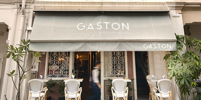 Exterior of Gaston in Keong Saik. Singapore