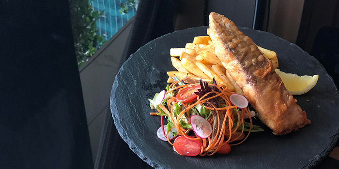 Fish and Chips from NJ Relish at Ascott Raffles Place in Raffles Place, Singapore
