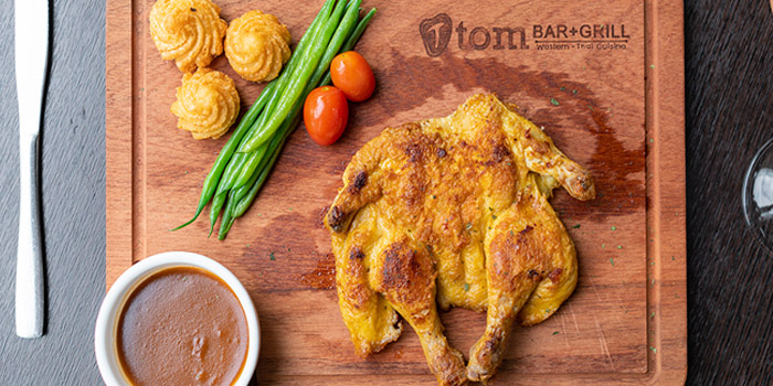 Grilled Chicken, Tom Bar & Grill, Shatin, Hong Kong