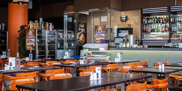 Interior, Tom Bar & Grill, Shatin, Hong Kong