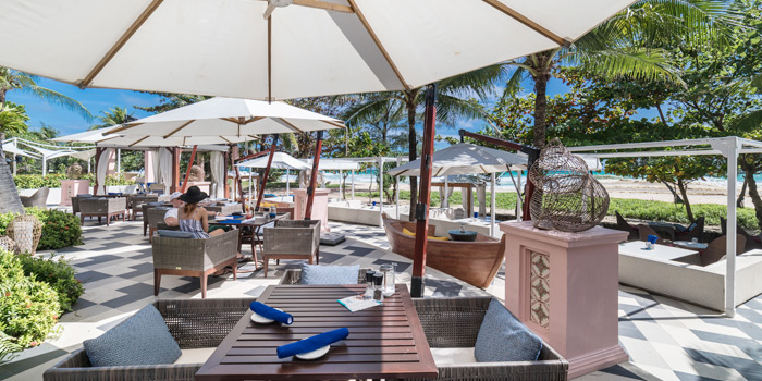 Outdoor of Coast Beach Club and Bistro in Patak Road Kata Muang Phuket, Thailand
