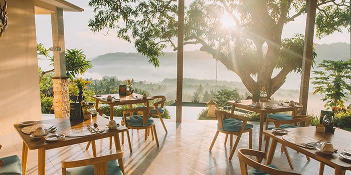 Interior from Jala Restaurant, Lembongan, Bali