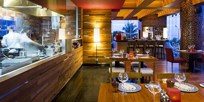 Interior from Bene Italian Kitchen, Kuta, Bali