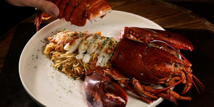 Pasta Lobster from Five Crossing at 411 Soi C Road 12 Bang Phut, Pak Kret Nonthaburi
