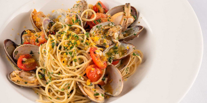 Spaghetti Vongole from Spasso Restaurant & Bar at Grand Hyatt Erawan, Bangkok