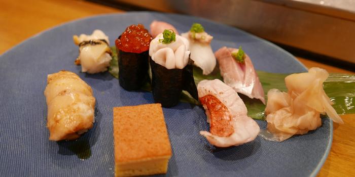 Sushi Platter from Sushi Cyu & Carnival Yakiniku at 303-304 87/2 Witthayu Road Lumphini, Pathumwan Bangkok