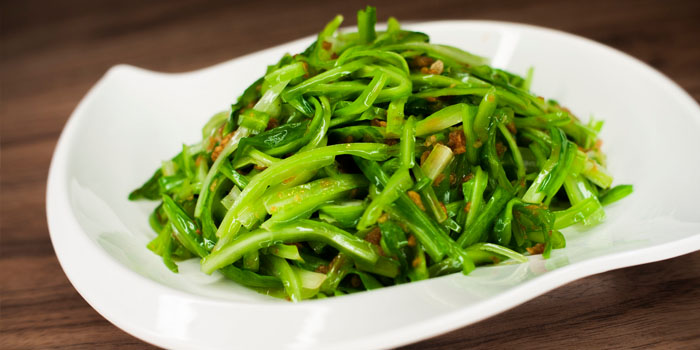 Vegetables from Uncle Leong Seafood (Anchorpoint) in Queenstown, Singapore