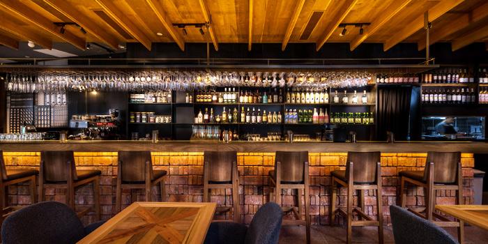 Bar Interior of 51 Soho in Telok Ayer, Singapore