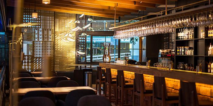 Interior of 51 Soho in Telok Ayer, Singapore