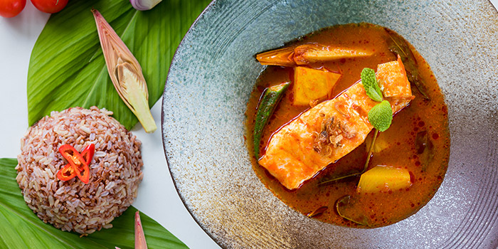 Nonya Style Rockling Fish from Verde Kitchen at Hilton Singapore in Orchard, Singapore