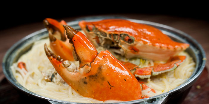 Crab from Uncle Leong Seafood (Anchorpoint) in Queenstown, Singapore