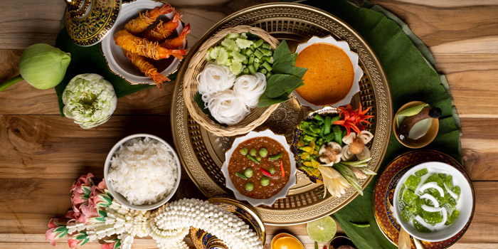 AYUTTHAYA from Praya Dining at Somdej, Prapinklao Soi 2, Bangkok
