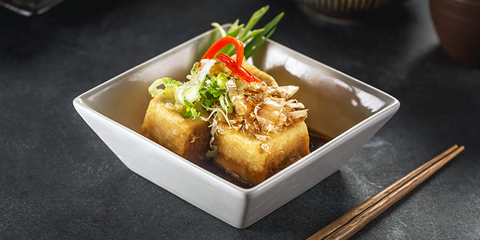 Agedashi Tofu from Benihana at Plaza Indonesia in Thamrin, Jakarta