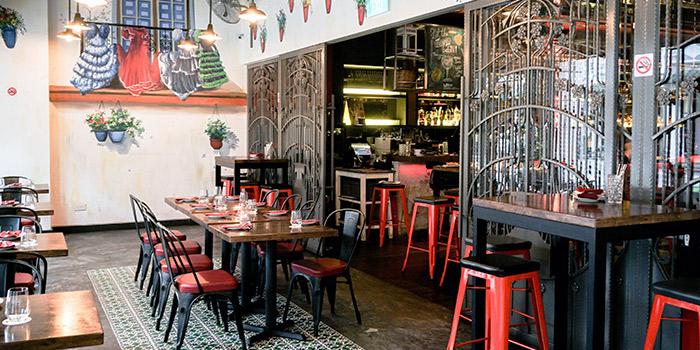 Al Fresco Seating of El Tardeo in Tanjong Pagar, Singapore