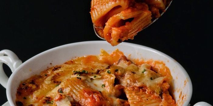 Baked Rigatoni from Antoinette (Mandarin Gallery) in Orchard Road, Singapore