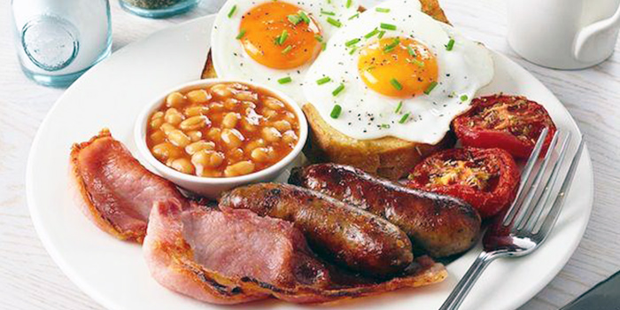 Big Full Monty Breakfast from The Dog and Bone Cafe in Bedok, Singapore