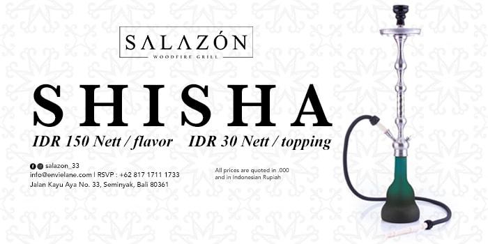 Promo from Salazon Restaurant, Seminyak, Bali