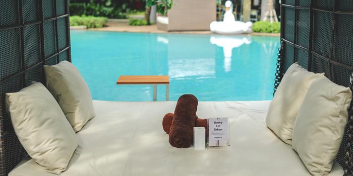 Cabana 3 at IINDIGO Lounge, Jakarta