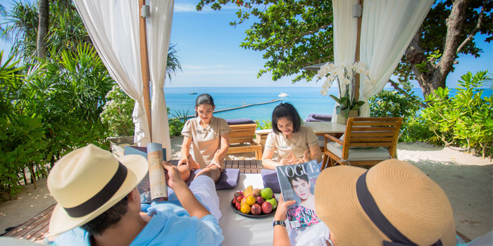 Cabana of The Deck in Cherngtalay, Phuket, Thailand