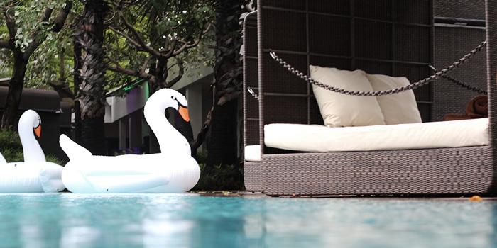 Cabana 2 at IINDIGO Lounge, Jakarta